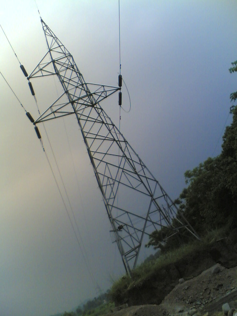Errection of 132/220  KV  Line Tower Transmission