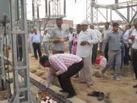 Opening of 132 KVA Power Sub Station