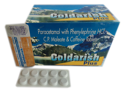 Paracetamol with Phenylephrine HCL Tablet