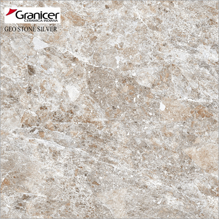 Geo Stone Silver Tiles