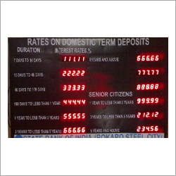 Fix Deposit Interest Display Rates