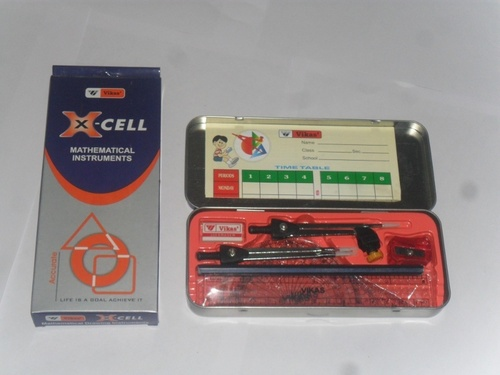 X- CELL Mathematical Instruments box