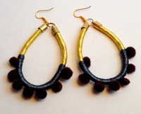 Silk Thread Earring