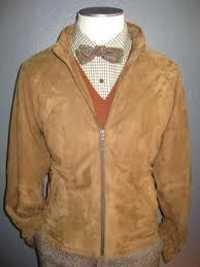 Ladies Pig Leather Suede Jacket
