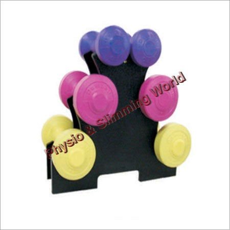 Fixed Rubber Dumbbells