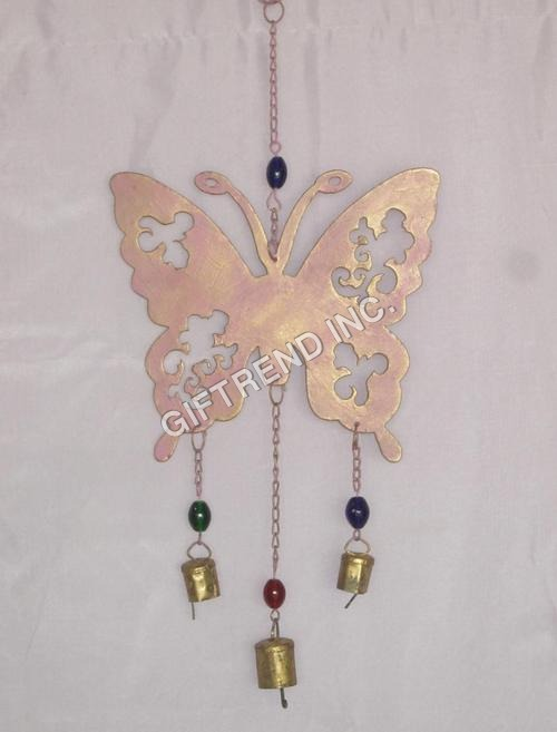 Hanging Butterfly Bell