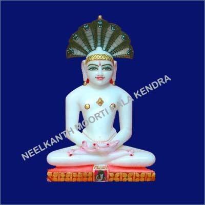 Marble Jain Parshavnath Moorti