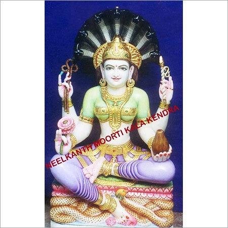 Marble Jain Padmavati Devi moorti