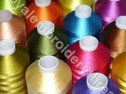 Viscose Embroidery Yarn Cone