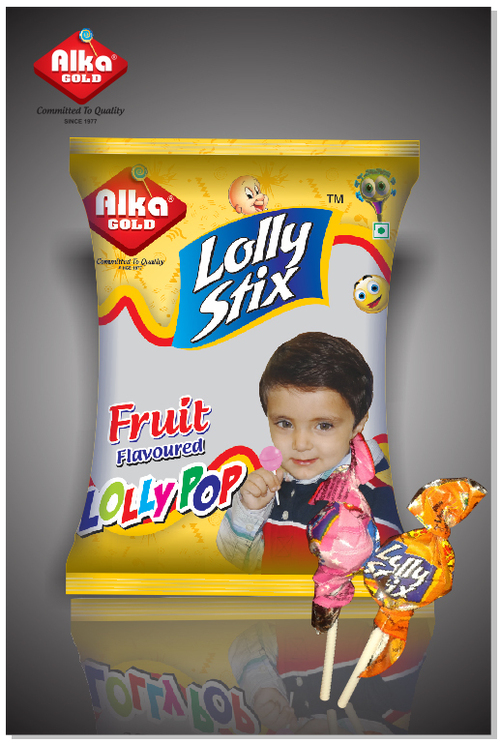 Mix Fruit Lolly Stix