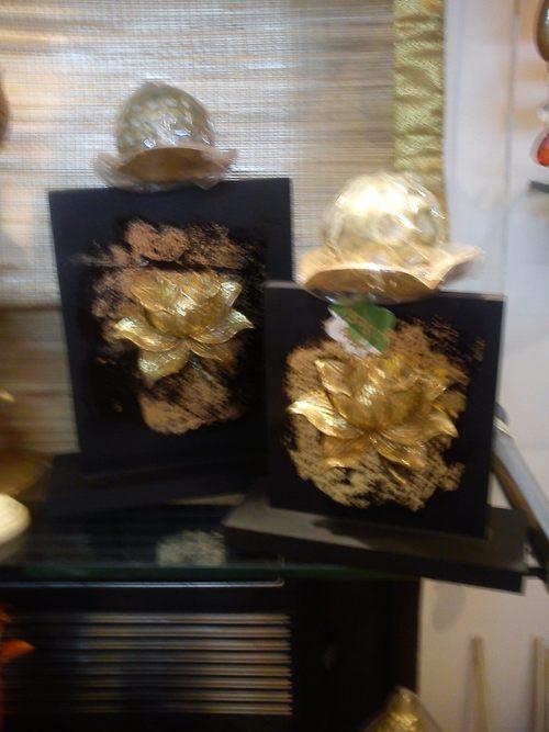 lotus design  candle holder