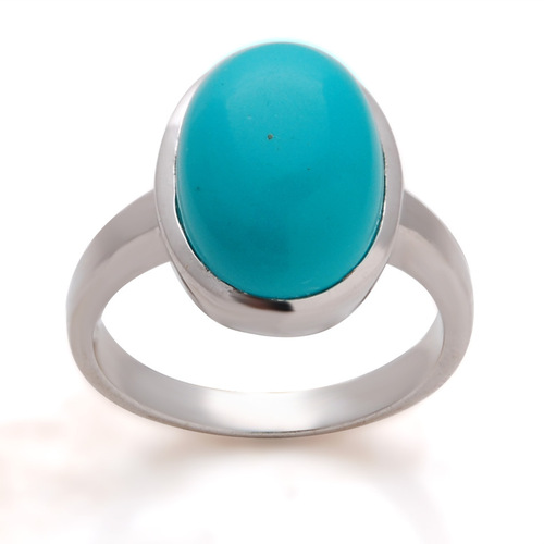 Oval cab ring design,turquoise silver ring,wholesale silver jewelry