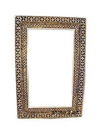 Golden GlassMirror Frame