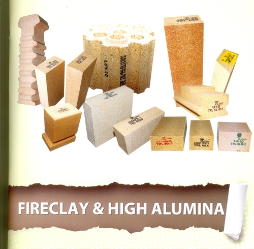 Fireclay and High Alumina Bricks