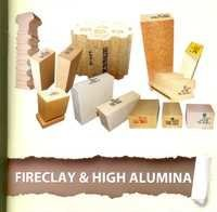 Fireclay and High Alumina Bricks