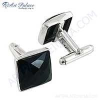 Luxury Nice High Quality Cufflinks With Black Onyx