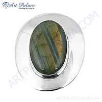 High Quality Labradorite Gemstone Silver Brooch