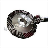 Textile Worm Gears