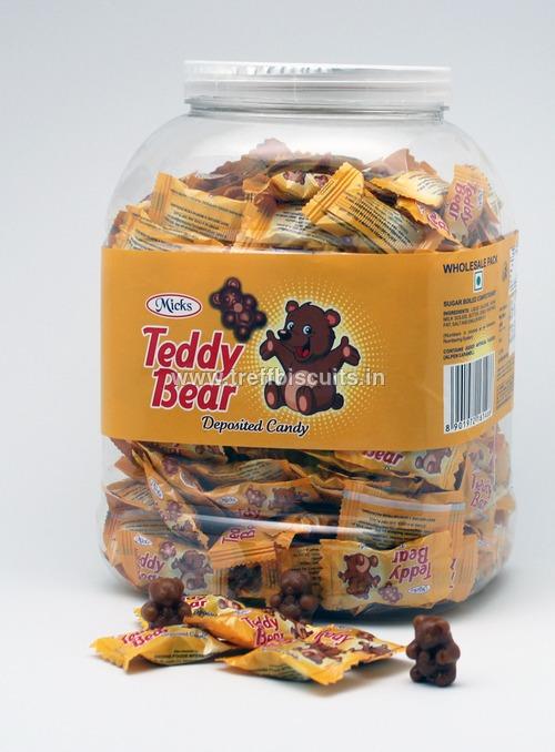 Micks Teddybear Deposited Candy