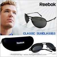 Reebok Aviator Sunglasses Green Lens