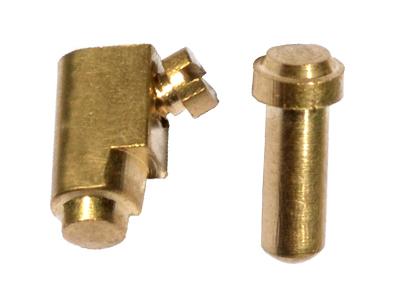 Brass Pillar Set