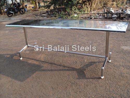Custom Stainless Steel Dining Table