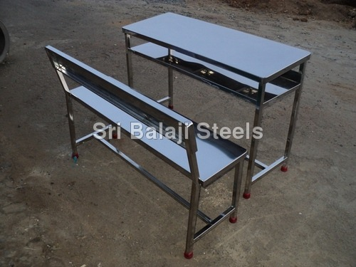 Stainless Steel Desk Bench