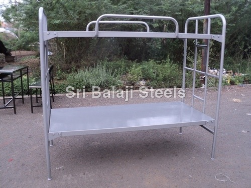 Steel Double Decker Cot