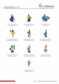 Actuated Valves