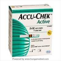 Accu Chek Active Strips 100'S