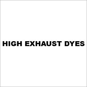 High Exhaust Dyes