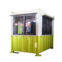 Mild Steel Modular Security Cabin