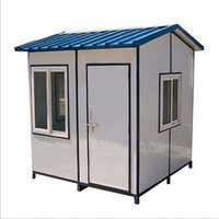 Mild Steel Security Guard Puff Cabin