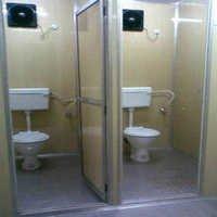Mild Steel Toilet Cabin