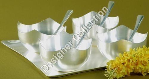 Silver Plate Bowl Set