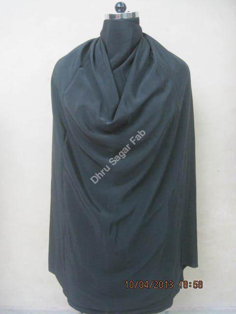 Polyester Heavy Bright Crape Dyed fabrics