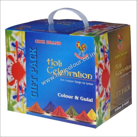 Holi Gulal Gift Pack