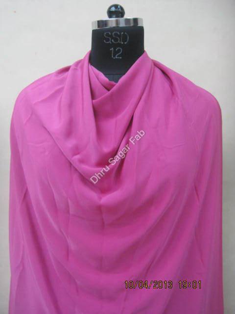 Heavy Bright Crape Dyed fabrics