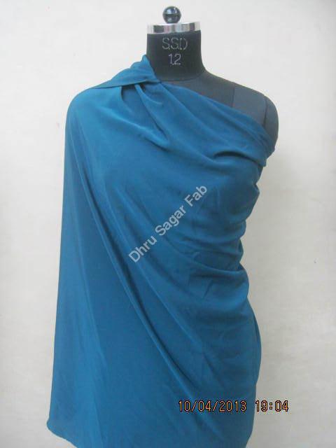Polyester Heavy Dull Crape Dyed fabrics