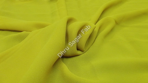 Heavy Georgette Dyed fabrics