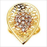 Light weight big look real jewelry, diamond gold jewelry supplier