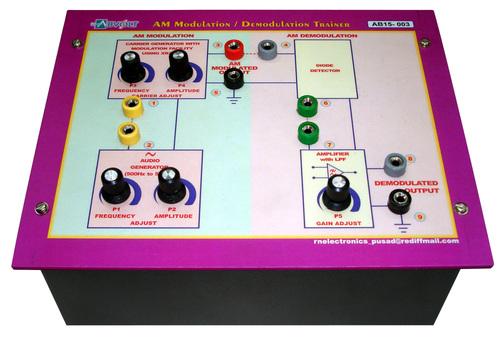Amplitude Modulation-Demodulation Trainer