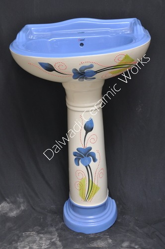 Alpine Blue Vitrosa Wash Basin