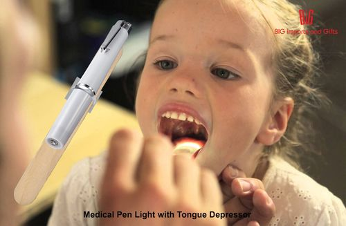 Torch With Tongue Depressor