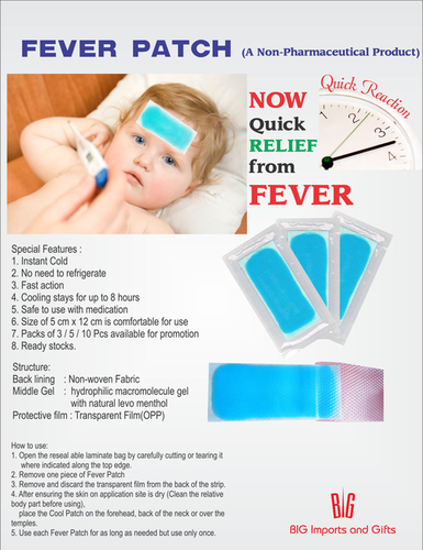 Instant Fever Patch