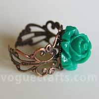 Trendy Flower Ring
