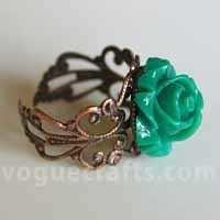 Trendy Flower Ring