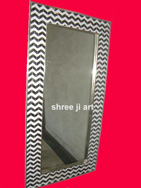 Designer Glass Mirror Frame