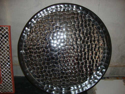 Thikri glass work tray