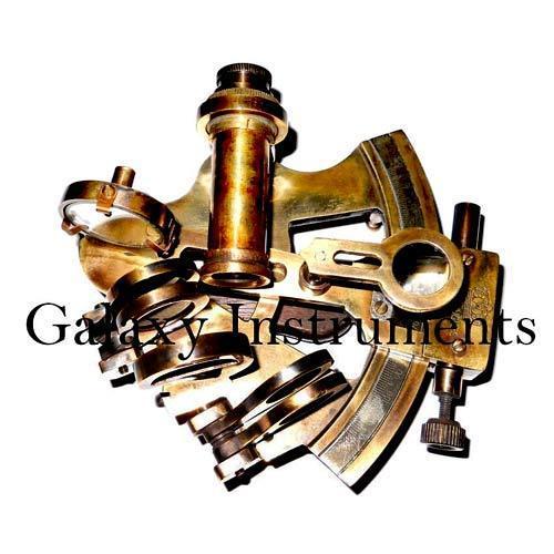 Nautical Brass Sextant